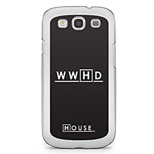 Samsung Galaxy S3 Transparent Edge Case House What Would House Do