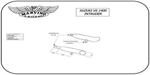Marving S//cp07//bc Suzuki Vs 1400 Intruder