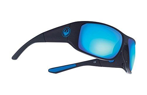 DRAGON WatermanX Sunglasses - Matte Black Frame with Blue...