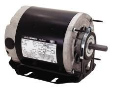 "CENTURY GF2034 Century Gf2034 Belt Drive Fan Motor, 5.5"", 115 Volts, 6.8 Full Load Amps, 1/3 Hp, 1,725 Rpm -  A.O. SMITH, 504116"