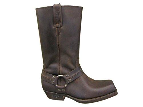 und Loblan Biker 0295 braun Größe LOBLAN Westernstiefel Herren Damen 295 41 marron stiefe brown Boots RwH5zq