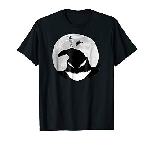 Disney Nightmare Before Christmas Oogie Boogie Moon T Shirt -