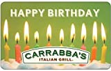 Carrabba's Italian Grill Happy Birthday Gift Card image