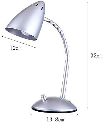 Flexo LED Lámpara Escritorio,Lampara De Mesa Luz de Lectura de ...