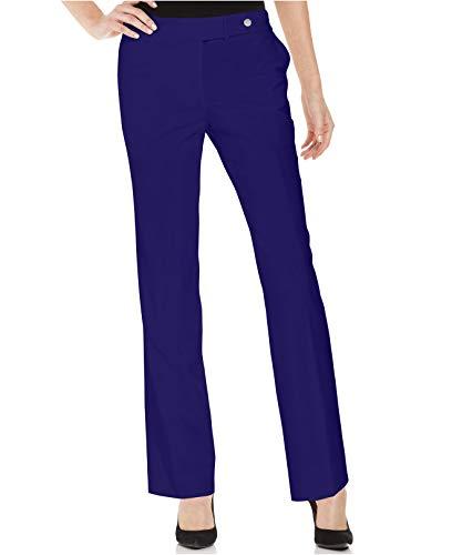 Calvin Klein Women's Bootcut Leg Pants (Navy, 2) ()