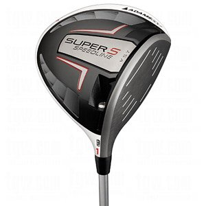 Adams Golf Men's Speedline Super S Driver (Right Hand, Graphite, Stiff)
