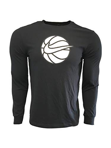 Nike Men's Long Sleeve T-Shirt Cotton/Polyester Blend DB6716 1