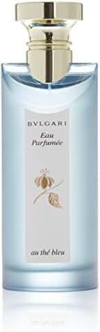Bvlgari Au The Bleu Eau Parfumee Eau de Cologne Spray for Men, 5.0 Fluid Ounce