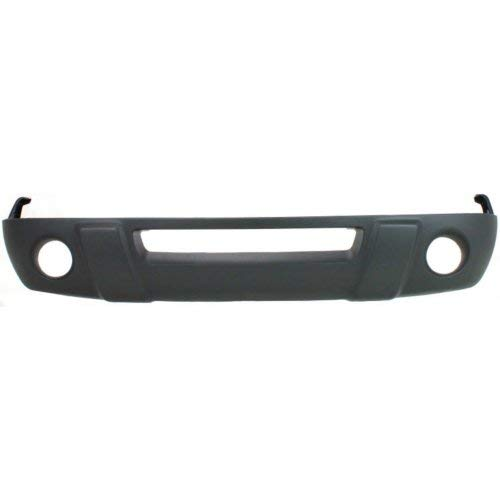 - Front Lower Valance Compatible with FORD RANGER 2001-2003 Textured XL/XLT Models with Fog Light Holes