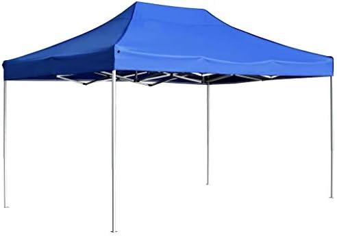 Festnight Carpa Plegable Profesional de Aluminio Parasoles de Jardin Pabellon de Jardin Eventos al Aire Libre Azul 4,5x3 m: Amazon.es: Hogar