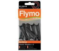 6x Messer Ersatzmesser Plastikmesser für FLYMO Micro Lite