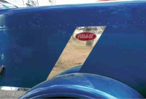Peterbilt 389 Hood Emblem Stripe Accent 2007 and Up by CPW