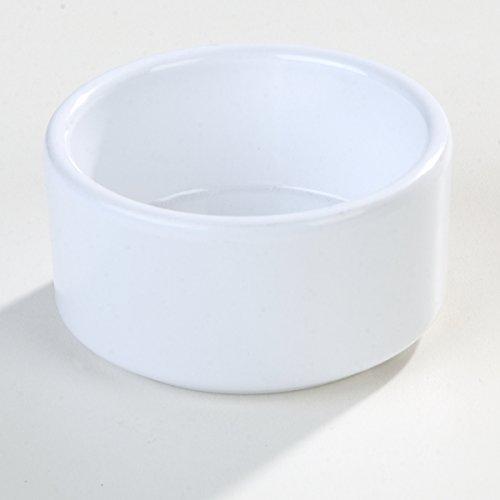 Carlisle 41202 White Melamine Straight-Sided Ramekin (Case of 48) by Carlisle (Image #7)