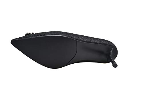 Noir Sandales Femme Compensées Noir EU SDC06002 5 36 AdeeSu A1q5wIx