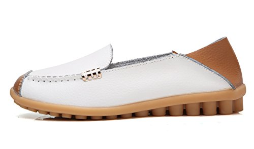White Air Women's Flat Comfort on Loafer Walking VenusCelia AxfSpqw1S