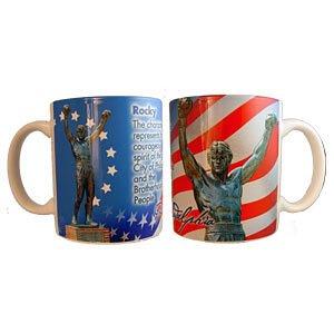 The Postcard Factory City of Philadelphia Rocky Statue Coffee Mug