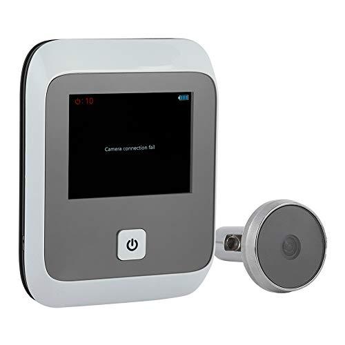 ASHATA Timbre Mirilla Wireless con Cámara Oculta de Puerta Inalámbrico para Seguridad de...