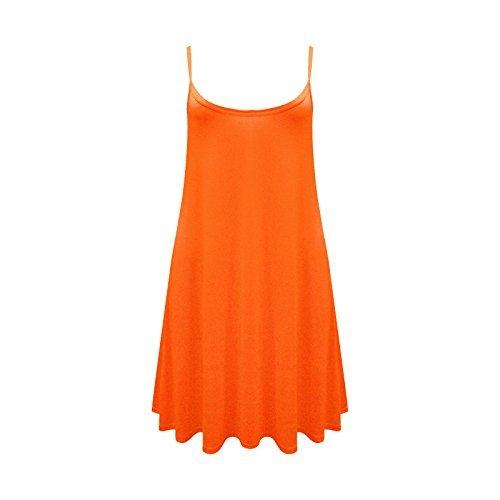 Haut Femmes Manches Nombreuses Flottante Caraco Swing Sans En Torch Robe Patineuse Orange Lanires 26 8 Disponible Couleurs Long vpnv4Hf