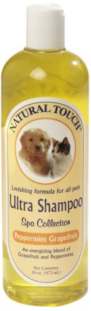 Nilodor Natural Touch Ultra Peppermint Grapefruit Shampoo, (Nilodor Deodorizing)