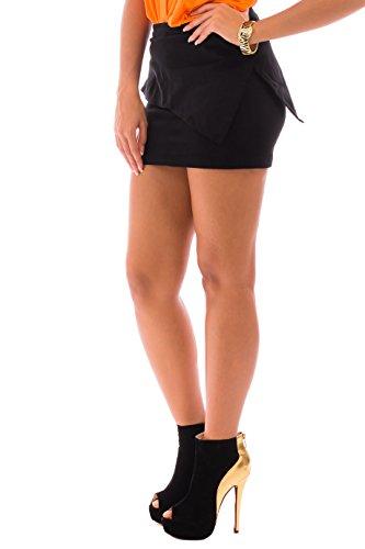 Cvb Negro Mujer Mujer Cvb Para Para Falda Cvb Mujer Falda Falda Negro Para 5W1qxOw7R