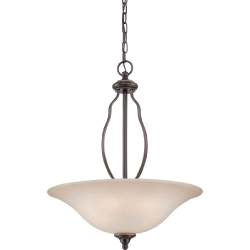 Quoizel VTA2820PN Ventura with Palladian Bronze Finish,  Pendant and 4 Lights,  Brown