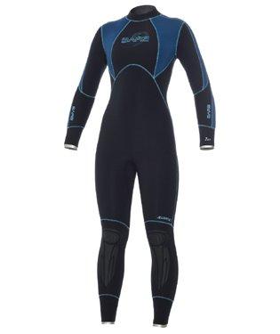 c6b23785fd Amazon.com  7mm Womens Bare Elastek Full Super Stretch Scuba Dive ...