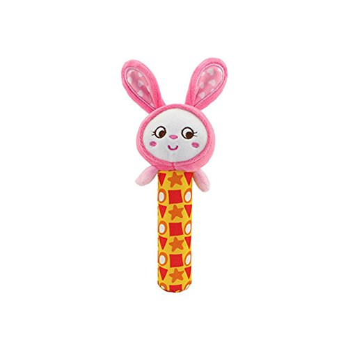 Baby Doll Costumes Carnival - Animal Hand Rattle Soft Plush Stick