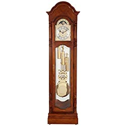 Ridgeway 2582 Primrose (2506 REPLACEME Grandfather Clock, Treasure Oak