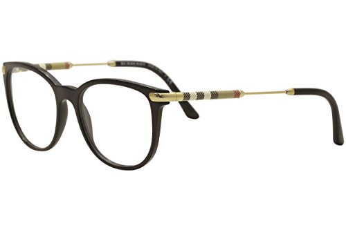 Burberry Women's BE2255Q Eyeglasses Black 51mm