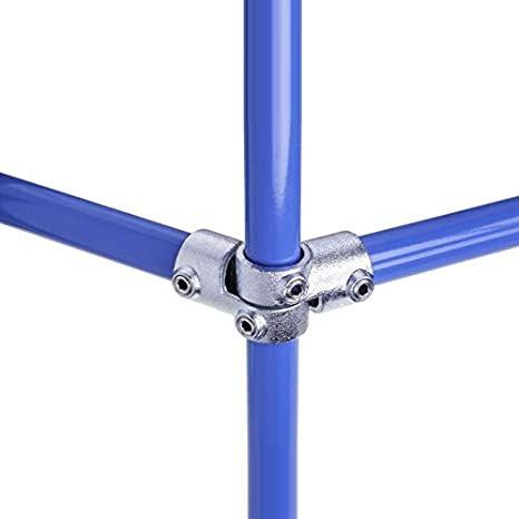 Rohr-Endkappe, Kunststoff lackierbar /Ø 33,7mm 1 WITTKOWARE Rohrverbinder aus verzinktem Temperguss 33,7mm