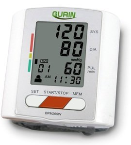 Gurin Professional Wrist Digital Blood pressure Monitor by Gurin