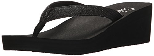 Cobian Women's Grace Flip-Flop, Black, 7 M US