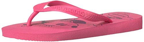 Havaianas Women's Top Disney Shocking Pink Flip Flop, 37 BR/