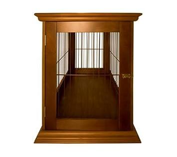 denhaus: ruffhaus interior madera caja de perro casa final mesa muebles perro cama: Amazon.es: Productos para mascotas