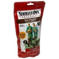 Newman's Own Organics Dog Treats for Small Sized Dogs, Chicken, 10-Ounce Bags (Pack of 6) ( Value Bulk Multi-pack)