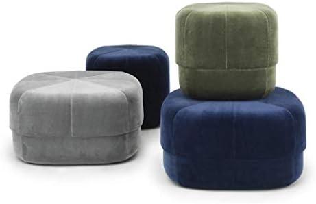 QSHG Osmanen Tisch Hocker Fußraste Pouffe Sofa Fußschemel Gartenmöbel Startseite statische Belastbarkeit Verschiedene Bedingungen Soft Velvet Fabric Geschenk