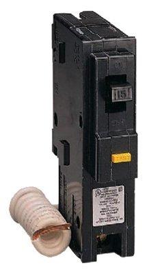 Square D 15 Amp Homeline 1Pole Ground Fault Circuit Breaker
