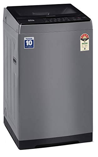 Panasonic 7 Kg 5 Star Fully-Automatic Top Loading Washing Machine (NA-F70LF1HRB, Grey) 2021 June Fully-automatic top load washing machine: Affordable with great wash quality, Easy to use Capacity 7 Kg :Suitable for families with 3 to 4 members ; 680 RPM: Higher the Spin speed,lower the drying time. Manufacturer Warranty: 2 years on product and 10 years on Motor