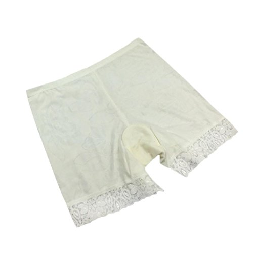 Price comparison product image Anxinke Ladies Stretchy Briefs Safety Panties Shorts Underwear (White)