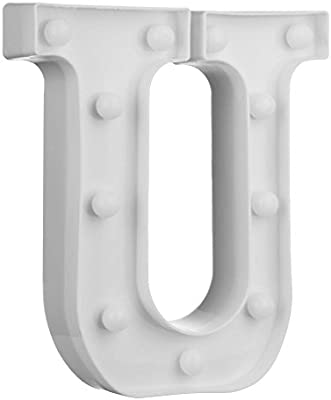 Everpert 3D Letter LED Night Light Wall Hanging Marquee Sign
