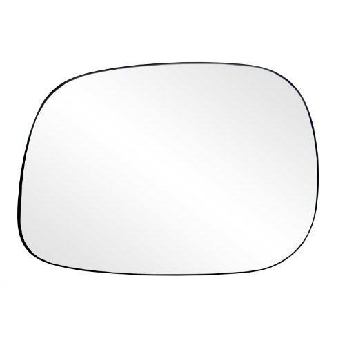 Fit System 88203 Dodge RAM 1500/2500/3500 Left Side Manual Replacement Mirror Glass with Backing Plate 07 Dodge Ram Manual