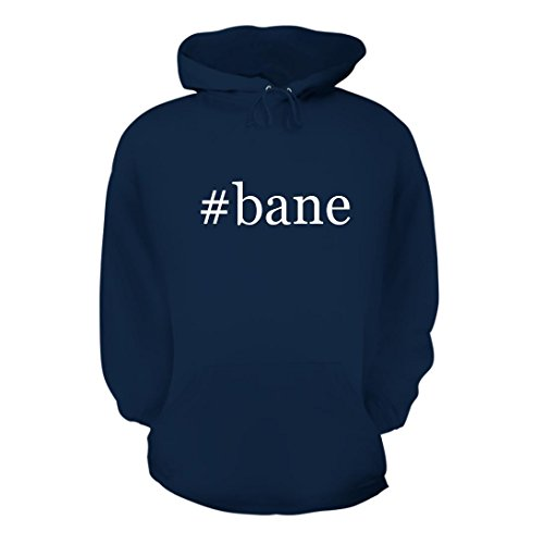 #bane - A Nice Hashtag Men's Hoodie Hooded Sweatshirt, Navy, X-Large