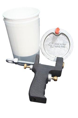 G100 – 6 taza de grado profesional pistola, pulverizadores Gelcoat o resina