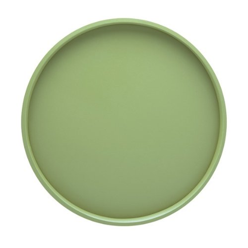 Green Round Platter (Kraftware Bartenders Choice Fun Colors Collection 14-Inch Round Serving Tray, Mist Green)