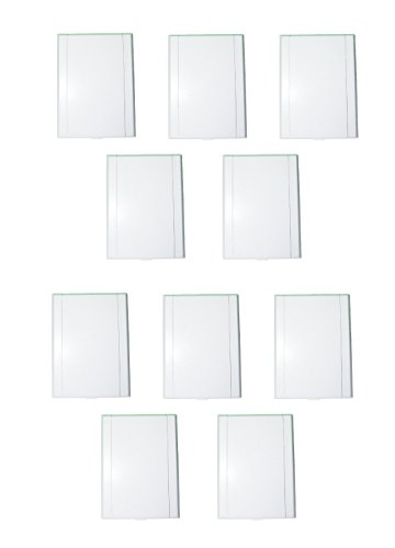 - ZVac Central Vacuum Wall Plate 10pk White Low Voltage Brand Inlets Generic Replacement Fits Most Central Vacuum Systems (10, Inlet White Low Voltage)