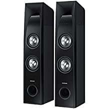 Samsung TW-J5500-R 2.2 Channel Wireless Sound Towers with Built In Subwoofers, Black (Refurbished)