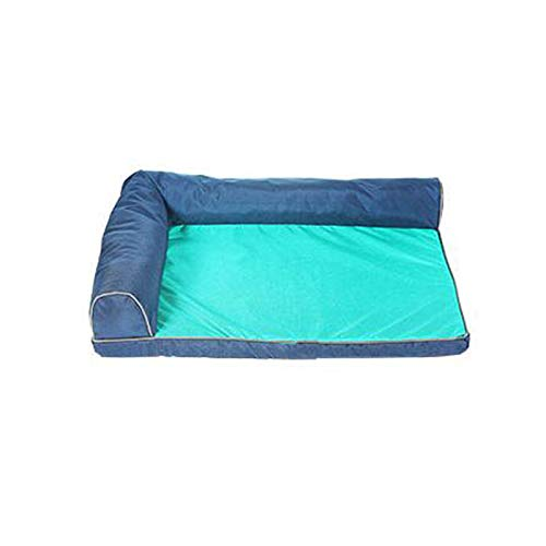 B L B L Small Medium Size Large Dog Pad Supplies Indoor Waterproof Pet Bed (color   B, Size   L)