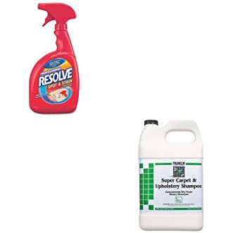 KITFKLF538022RAC97402CT - Value Kit - Franklin Super Carpet amp;amp; Upholstery Shampoo (FKLF538022) and Professional RESOLVE Carpet Cleaner (RAC97402CT)