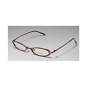 Thalia Samba Womens/Ladies Designer Full-rim Eyeglasses/Eyeglass Frame (48-18-135, Shiny Red)