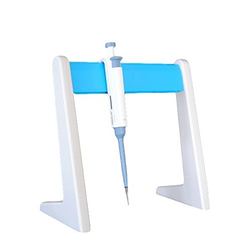 Lab Linear Pipettor Stand Hold 5 or More Pipettes, 1 Year Warranty, Laboratory Pipette Stand, 5 Laboratory Pipette (Pipette Rack)